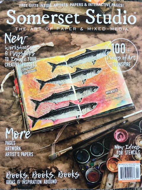Art published Somerset Studio May 2019 COVER